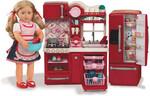 Poupées Our Generation Cuisine et accessoires poupée Our Generation, cuisinière, évier, réfrigérateur, lave-vaisselle 062243263758