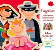 Djeco Enfants déguisés magnétiques en bois (fr/en) 3070900031122