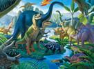 Ravensburger Casse-tête 100 XXL dinosaures terre des geants 4005556107407