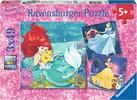 Ravensburger Casse-tête 49x3 Princesses Disney 4005556093502