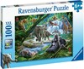 Ravensburger Casse-tête 100 XXL Animaux de la jungle 4005556129706