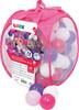 LUDI LUDI - Balles de plastique roses (75) avec sac refermable, pour piscine à balles 3550839927933