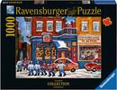 Ravensburger Casse-tête 1000 Hockey à St. Viateur Bagel, Montréal, Québec, Canada 4005556195343