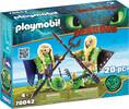 Playmobil Playmobil 70042 Dragons Kranedur et Kognedur en combinaison de vol 4008789700421