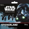 Trends International Mini Stickerland Pad Star Wars Rogue One, 6 pages (fr/en) 042692050864