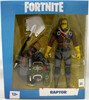 "Fortnite Mcfarlane Fortnite figure 7"" w2 raptor 787926106039"