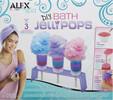 Alex Toys Créer 3 bulles de savon de bain (DIY Bath Jelli Pops) 731346006431