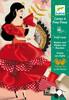 Djeco Cartes à frou-frous Flamenco (fr/en) 3070900086746
