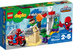 LEGO LEGO 10876 DUPLO Les aventures de Spider-Man et Hulk, Super-héros 673419283403