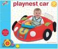 Galt Toys Playnest voiture coussin gonflable matelassé avec tableau de bord électronique détachable (beigne/tube) 5011979552853