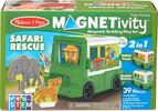 Melissa & Doug Magnetivity camion de sauvetage safari (jeu magnétique) Melissa & Doug 30666 000772306669