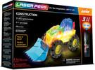 Laser Pegs - briques illuminées Laser Pegs junior véhicule de construction 3 en 1 (briques illuminées) 810690020314
