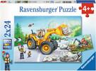Ravensburger Casse-tête 24x2 Travaux de tracteurs 4005556078028