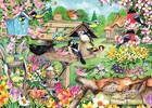 Falcon de luxe Casse-tête 500 Oiseaux et jardin au printemps (Spring Garden Birds) 8710126112809