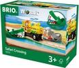 BRIO Train en bois BRIO Marécage Safari 7312350337211