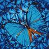 Diamond Dotz Broderie diamant Papillon bleu (Flutter by Blue) Diamond Dotz (Diamond Painting, peinture diamant) 4897073240763