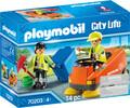 Playmobil Playmobil 70203 Agents d'entretien de la voierie 4008789702036