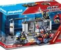 Playmobil Playmobil 70338 Quartier général transportable des policiers d'élite 4008789703385