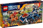 LEGO LEGO 70322 Nexo Knights Le transporteur de tour d'Axl (août 2016) 673419247306