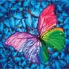 Diamond Dotz Broderie diamant Papillon rose (Flutter by Pink) Diamond Dotz (Diamond Painting, peinture diamant) 4897073240770