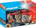 Playmobil Playmobil 5663 Caserne de pompiers transportable (juin 2016) 4008789056634
