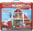 Melissa & Doug Magnetivity caserne de pompiers (jeu magnétique) Melissa & Doug 30654 000772306546