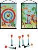 Scratch Scratch jeu de dards/fléchettes à ventouse double-face Le monde des dinos 5414561820567