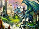 Ravensburger Casse-tête 100 XXL à dos de dragon 4005556108763