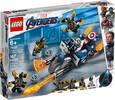 LEGO LEGO 76123 Super-héros Capitaine America l'attaque des Outriders, Avengers 673419303088