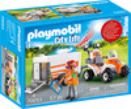 Playmobil Playmobil 70053 Quad et remorque de secours 4008789700537