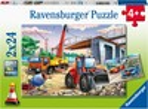 Ravensburger Casse-tête 24x2 Chantiers et course automobile 4005556051571
