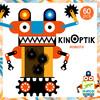 Djeco Kinoptik robots, mouvement optique, 58pcs (fr/en) 3070900056114