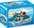 Playmobil Playmobil 9424 Pédalo avec 4 personnages 4008789094247