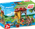 Playmobil Playmobil 70501 Starter Pack Box et poneys (janvier 2021) 4008789705013