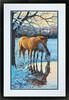 """Dimensions PaintWorks Peinture à numéro Chevaux réflections sur l'eau 20x14"""" 91492 088677914929"""