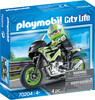Playmobil Playmobil 70204 Pilote et moto 4008789702043