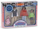 Melissa & Doug Famille de poupées victoriennes afro-américaine Melissa & Doug 2689