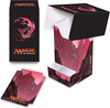 Ultra PRO Deck Box mtg Mana 5 Mountain Full View with Tray 074427865344