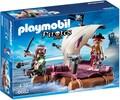 Playmobil Playmobil 6682 Radeau avec pirates des ténèbres (août 2016) 4008789066824