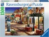 Ravensburger Casse-tête 1500 Le coin secret de Paris, France 4005556162444
