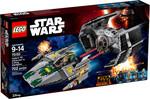 LEGO LEGO 75150 Star Wars Le TIE Advanced de Dark Vador contre l'A-Wing (juin 2016) 673419248327