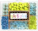 Bead Bazaar Perles et chaines turquoises 633870005075