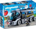 Playmobil Playmobil 9360 Camion des policiers d'élite avec sirène et gyrophare 4008789093608