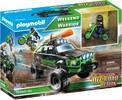Playmobil Playmobil 70460 Camion 4x4 Off-road et motocyclette guerrier de fin de semaine 4008789704603