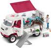 Schleich Schleich 42370 Vétérinaire mobile avec poulain hanovrien 4055744013850