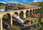 Falcon de luxe Casse-tête 1000 Trains et le viaduc (The Viaduct) 8710126112816