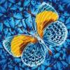 Diamond Dotz Broderie diamant Papillon doré (Flutter by Gold) Diamond Dotz (Diamond Painting, peinture diamant) 4897073240787