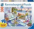 Ravensburger Casse-tête 300 Large Goûter en bord de mer 4005556164370
