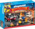 Playmobil Playmobil 9486 Calendrier de l'Avent pompiers et incendie de chantier 4008789094865