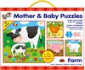 Galt Toys Casse-tête 16x4 mamans et bébés animaux de la ferme 5011979579430